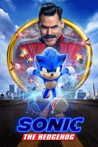 "Poster for the movie ""Sonic the Hedgehog"""