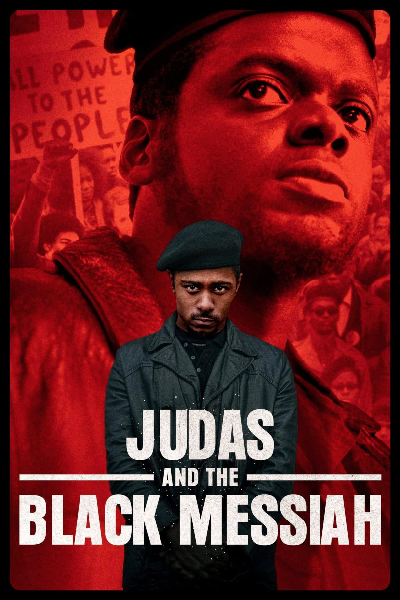 "Poster for the movie ""Judas and the Black Messiah"""