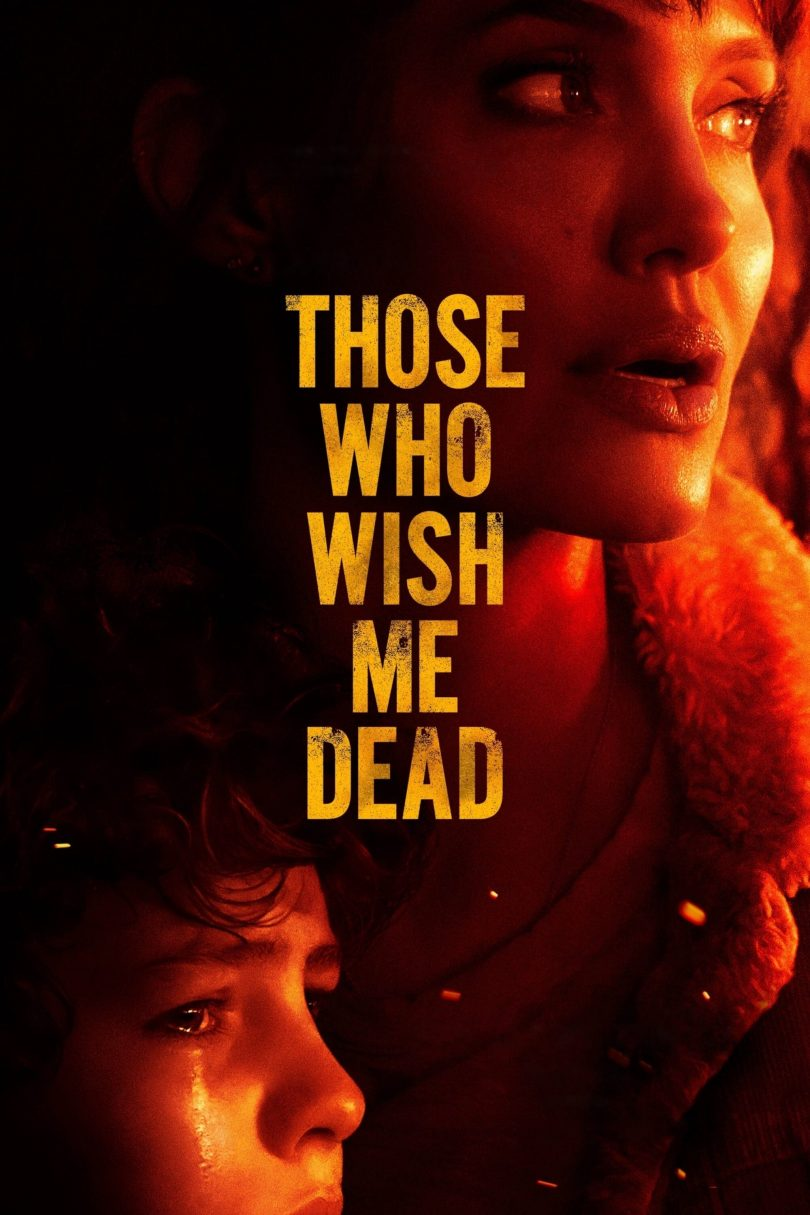 """Poster for the movie """"Those Who Wish Me Dead"""""""