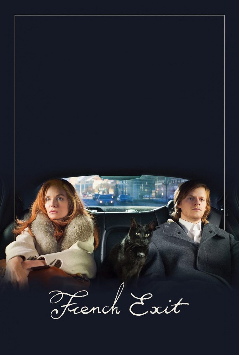 """Poster for the movie """"French Exit"""""""