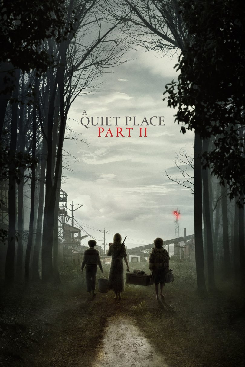 "Poster for the movie ""A Quiet Place Part II"""