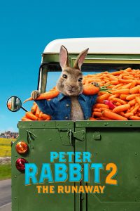 """Poster for the movie """"Peter Rabbit 2: The Runaway"""""""
