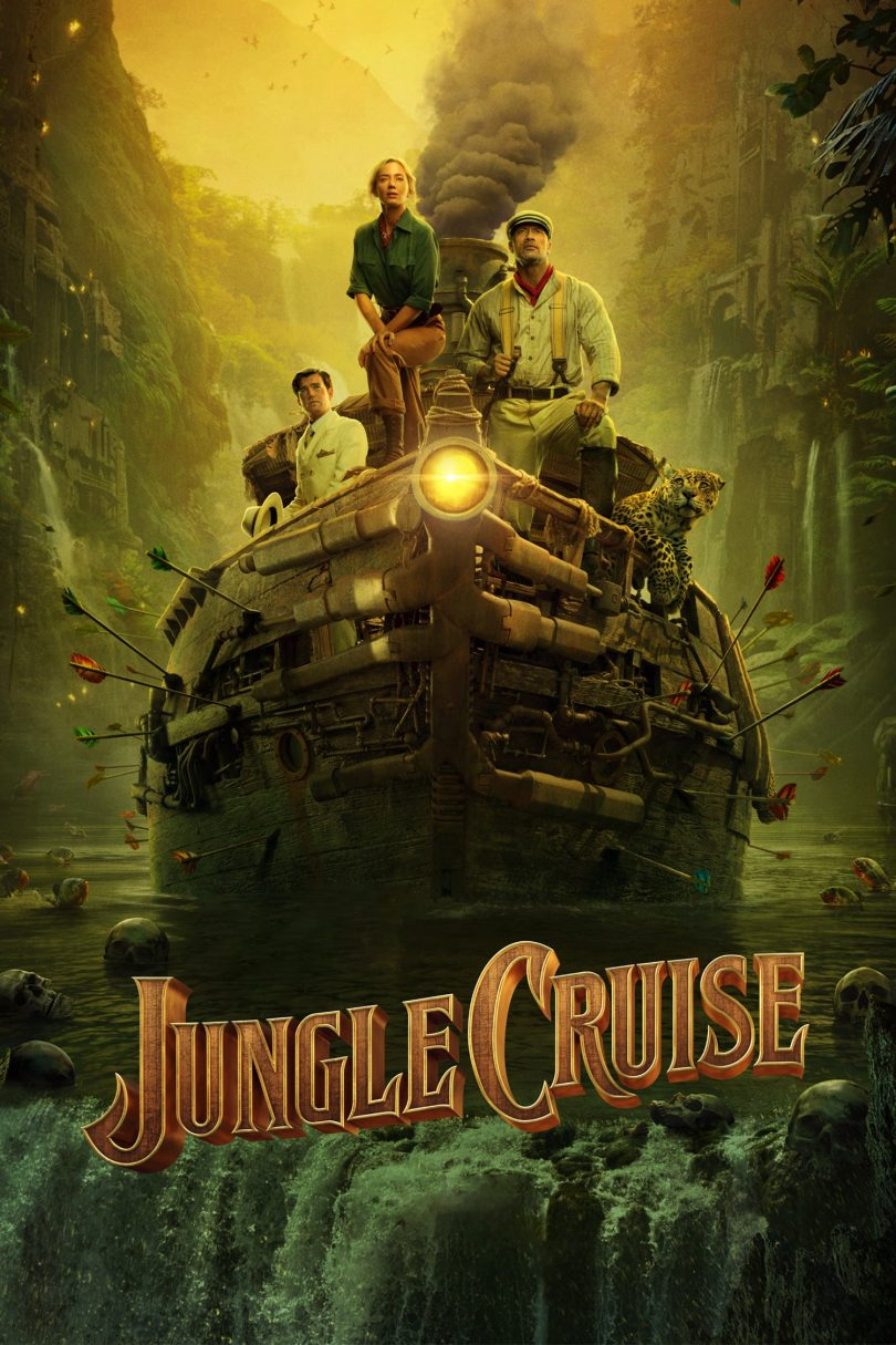 """Poster for the movie """"Jungle Cruise"""""""