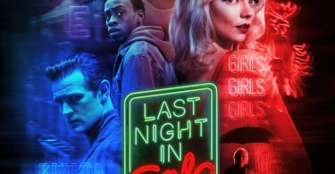 """Poster for the movie """"Last Night in Soho"""""""